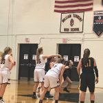 William Tennent High School Girls Varsity Basketball falls to Central Bucks West High School 42-23