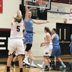 William Tennent High School Girls Varsity Basketball falls to North Penn High School (Lansdale) 59-20
