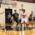 William Tennent High School Boys Varsity Basketball falls to Pennridge High School 65-46