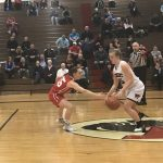 William Tennent High School Girls Varsity Basketball falls to Souderton Area Senior High School 47-25