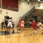 William Tennent High School Boys Varsity Basketball falls to Neshaminy High School 65-46