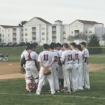 William Tennent High School Varsity Baseball beat Central Bucks West High School 8-4