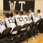 William Tennent High School Boys Varsity Volleyball beat Archbishop Wood High School 3-1