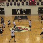 William Tennent High School Boys Varsity Volleyball beat Council Rock High School South 3-2