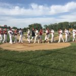 William Tennent High School Varsity Baseball beat Central Bucks East High School 10-6