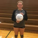 Stephanie Woolston Makes 1,000th Dig