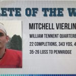 Mitchell Vierling – Nominee for Athlete of the Week