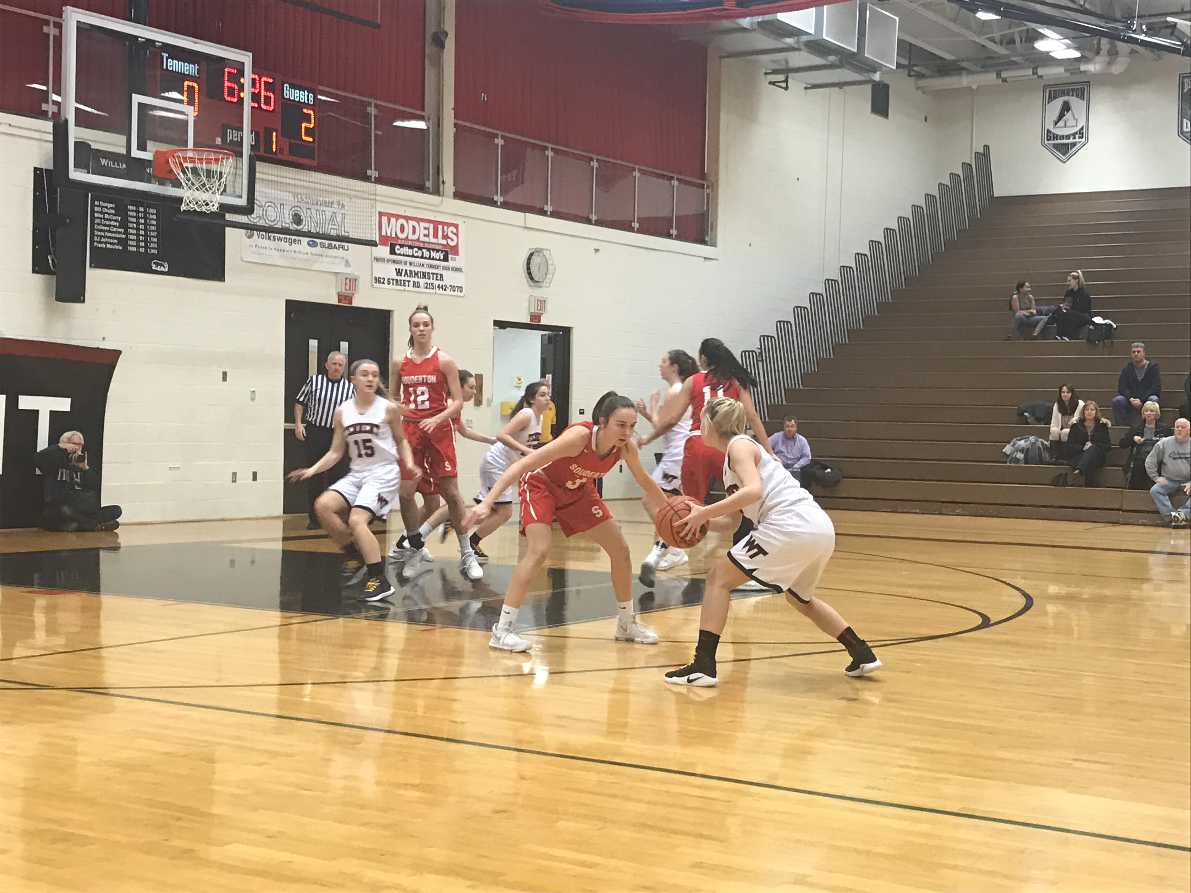 Girls Basketball Still in the Playoff Hunt