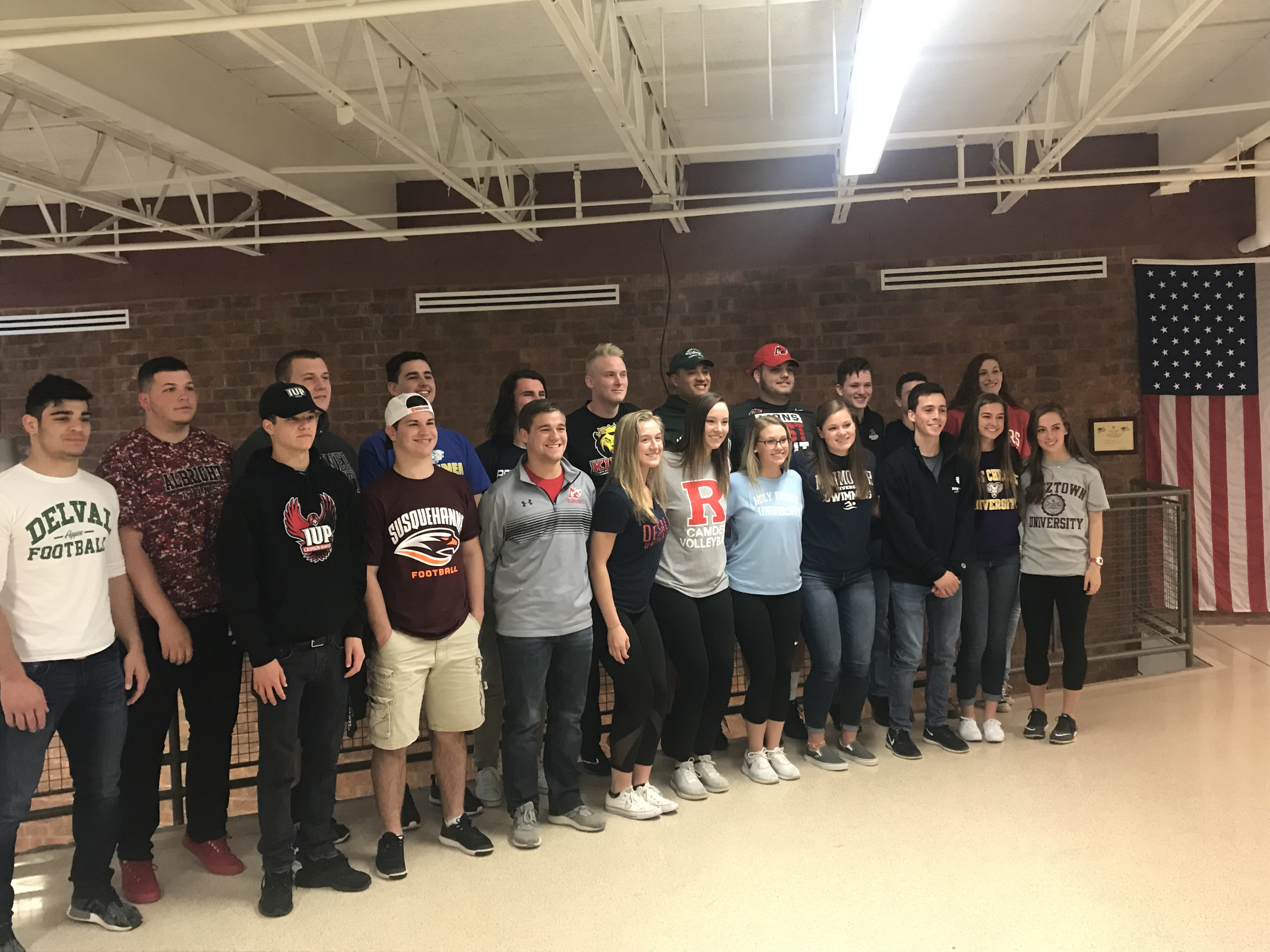William Tennent Athletes to Play at the Collegiate Level