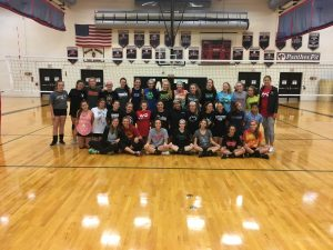 Girls Volleyball All-American Camp
