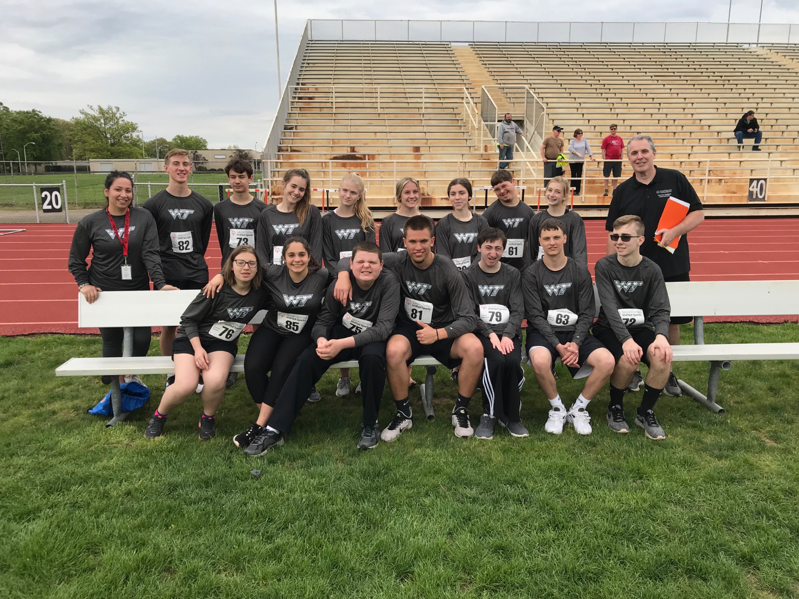 Unified Track / Special Olympics – Polar Bear Plunge