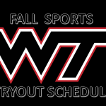 ***FALL ATHLETICS TRYOUT INFORMATION***