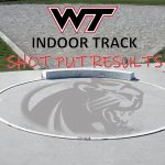 Indoor Track – Shot Put Results