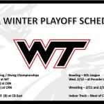 Winter Playoff Schedule