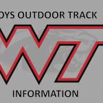 Boys Outdoor Track – Parent / Practice Information