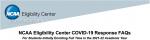 COVID19 FAQ – NCAA Eligibility Center – Updated