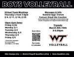 BOYS VOLLEYBALL FLYER