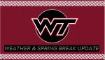 3/30 Postponements & Spring Break Practice