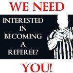 Officials Needed