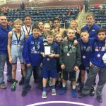 Jr. High Wrestling finished 4th at Christmas Duals