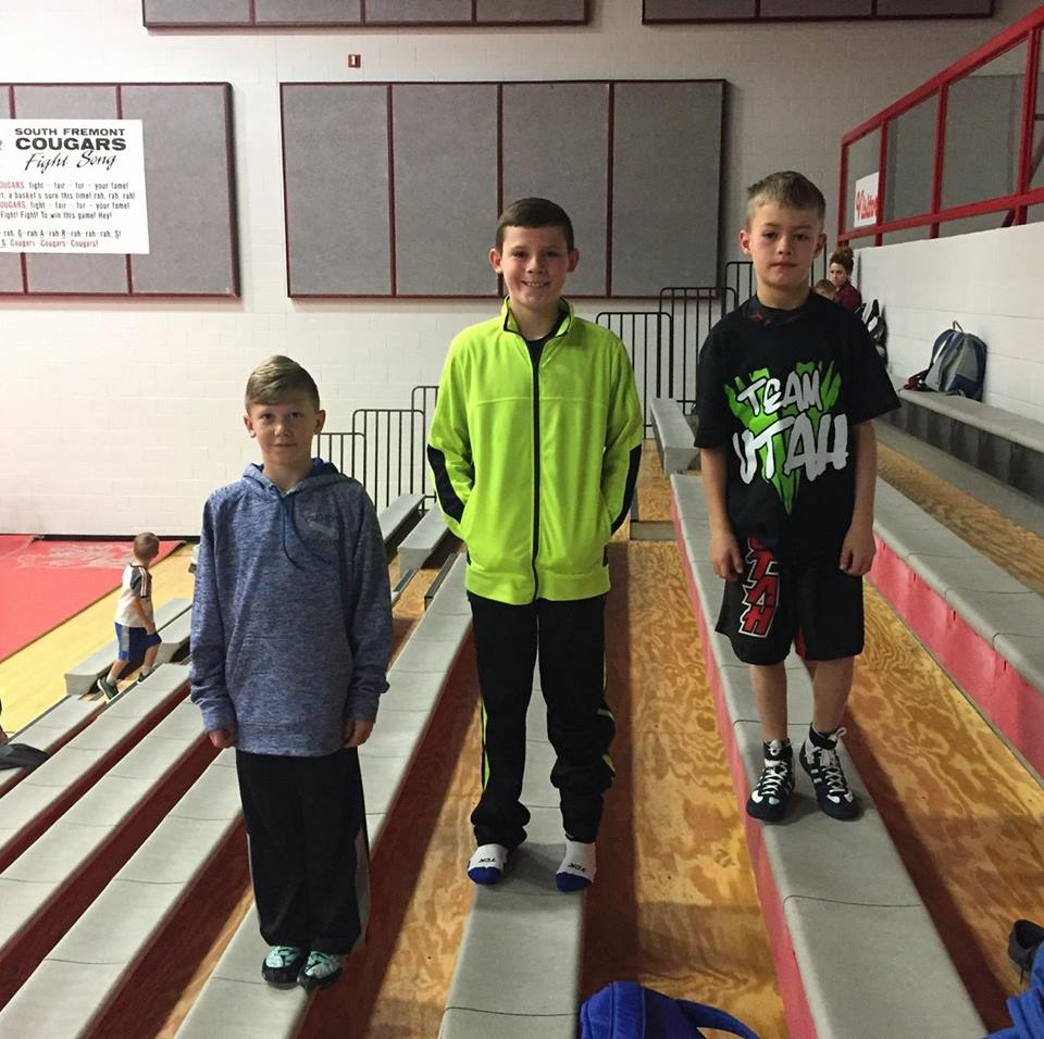3 FWC Wrestlers represent team Utah in Idaho Duals