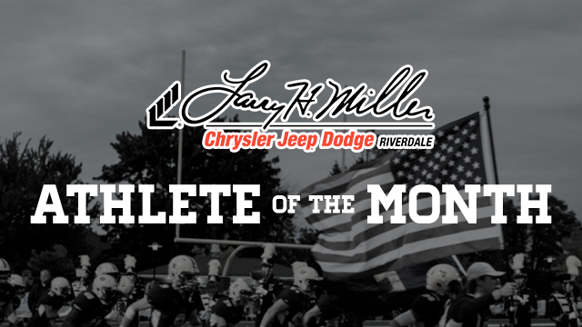 Don't Forget to Vote Larry H. Miller in Riverdale December Athlete of the Month