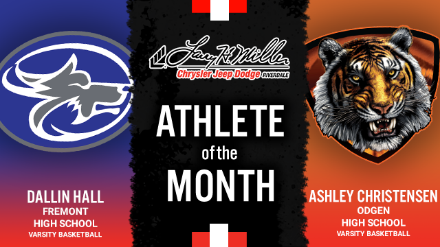 The Larry H. Miller in Riverdale January Athlete of the month is…