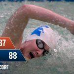 Girls Swimming defeats Greater Latrobe, 88-87