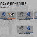 Today's Schedule – 2/22/21