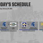 Today's Schedule – 2/24/21
