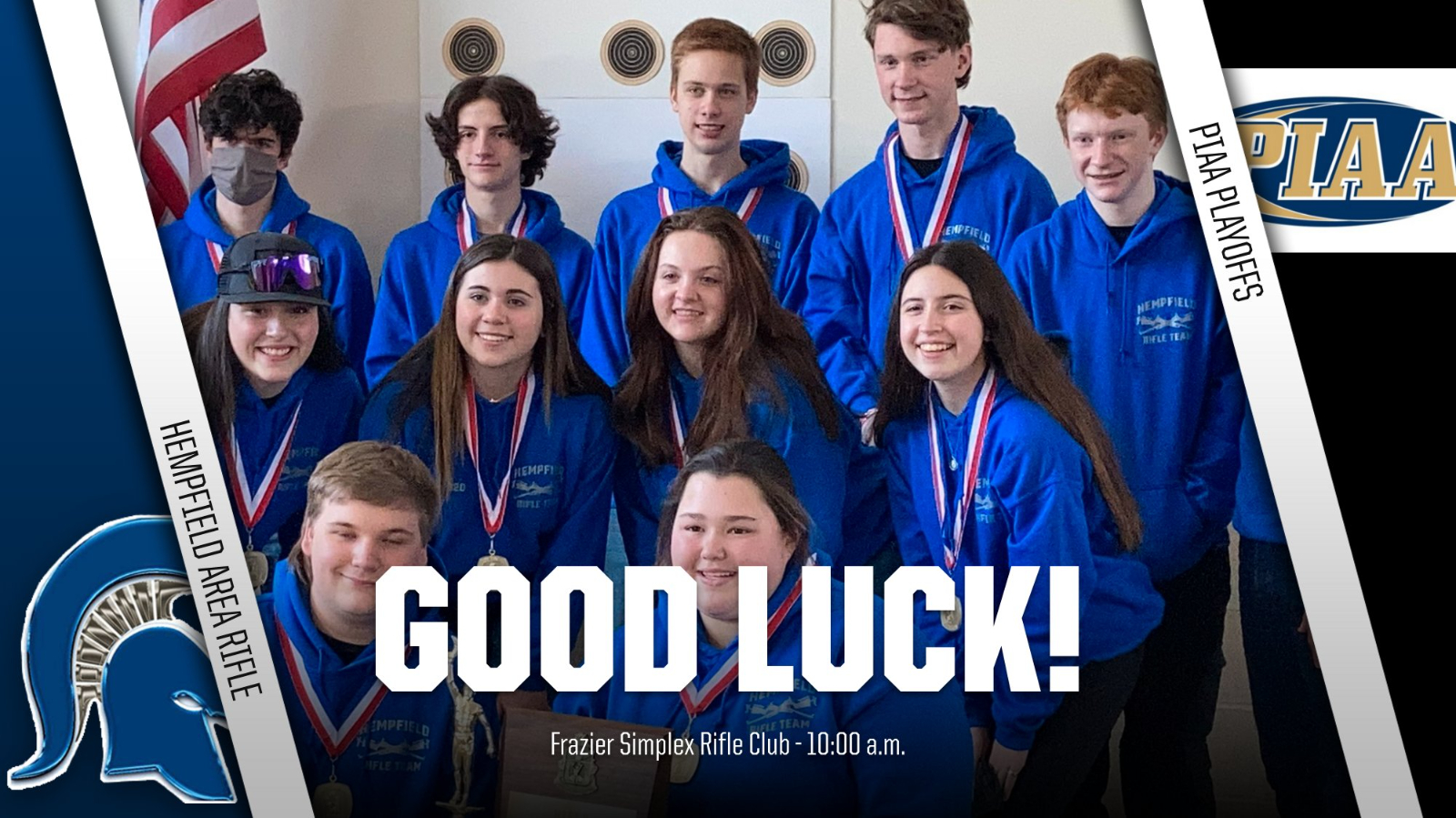 Good luck to the Rifle Team!