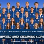 Good luck to the Swimming & Diving teams!