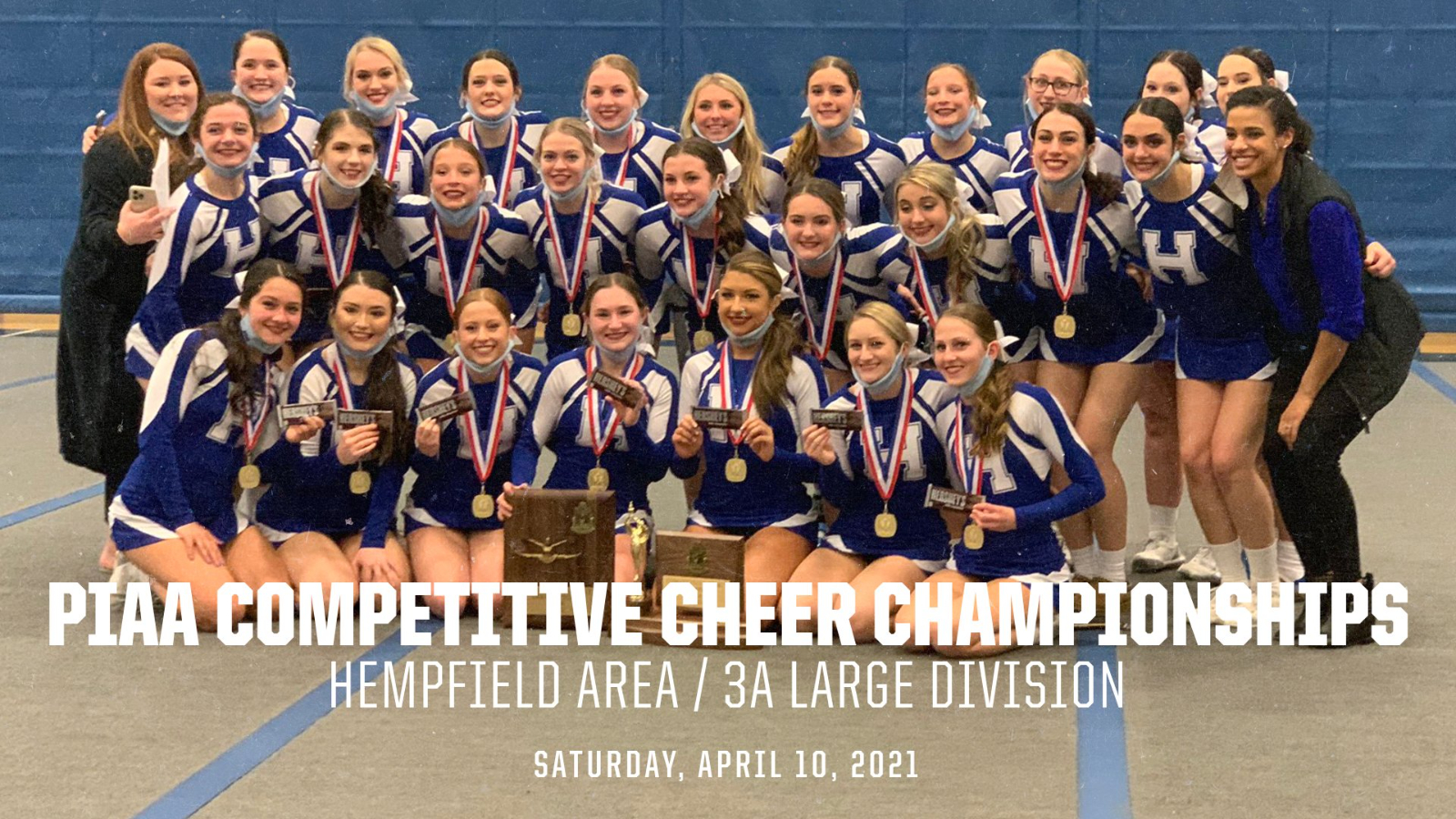 Competitive Cheer at PIAA Championship