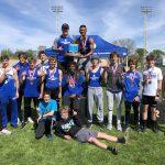 Boys Varsity Track wins County Championship