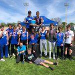 Boys County Track Champions