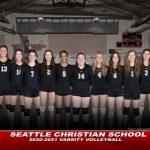 Volleyball falls to Cascade Christian
