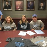 Hannah Lewis signs with SMWC