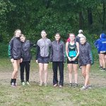 Girls Varsity Cross Country finishes 7th place at Brown County Invite @ Brown County High School
