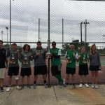 West Vigo Boys Varsity Tennis finishes 1st place at Northview Invite