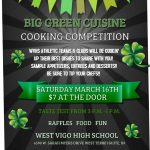 Big Green Cuisine set for March 16th