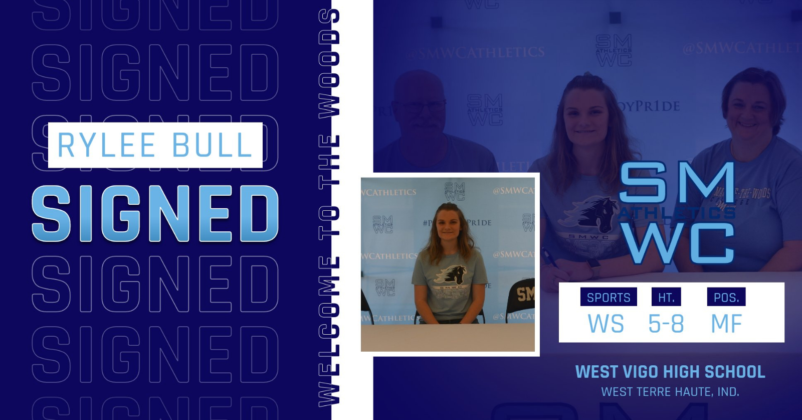 Rylee Bull signs with SMWC