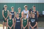 Boys Varsity Cross Country finishes 1st place at S. Vermillion Tri Meet