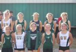 Girls Varsity Cross Country finishes 1st place at South Vermillion