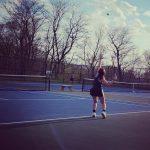 Lady Vikings Tennis win Season Opener on the Road