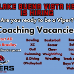 Lake Buena Vista HS Athletics is Hiring
