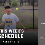 All Teams Schedule: Week of Mar 15 – Mar 21