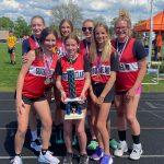 MS Girls Track Win WAADA Meet