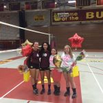 West Allis Central High School Girls Varsity Volleyball falls to New Berlin West High School 3-0