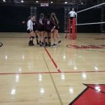 West Allis Central Girls Varsity Volleyball beat South Milwaukee High School 3-1