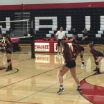 West Allis Central Girls Varsity Volleyball falls to Pewaukee